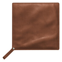 Brown Leather Pot Holder