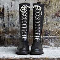 Long Rain Boots - Black - Limited offer