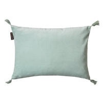Ice Green Kelly Cotton Velvet Cushion 35x50