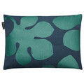 Dark Grey Turquoise Mulholland Cushion 35x50