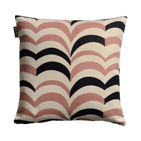 Arezzo Misty Grey Pink Cushion 50x50